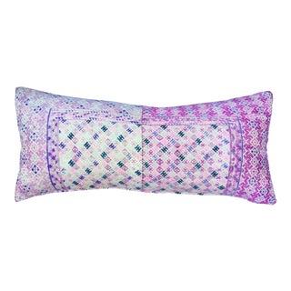 Antique Pink Tribal Wedding Quilt Pillow