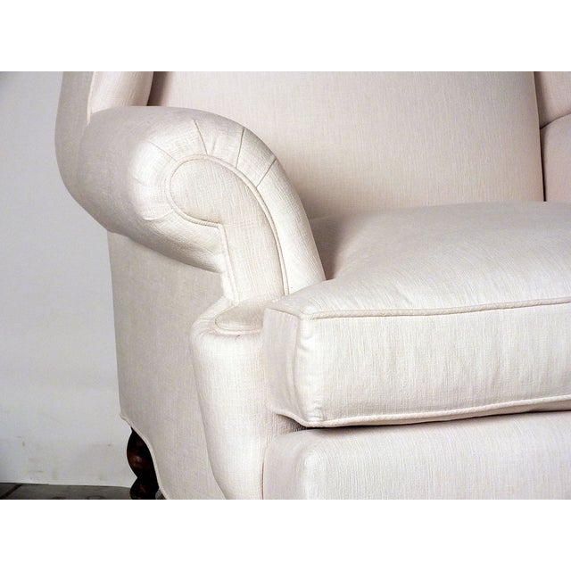 Antique Traditional Wingback Chairs - A Pair - Image 5 of 9