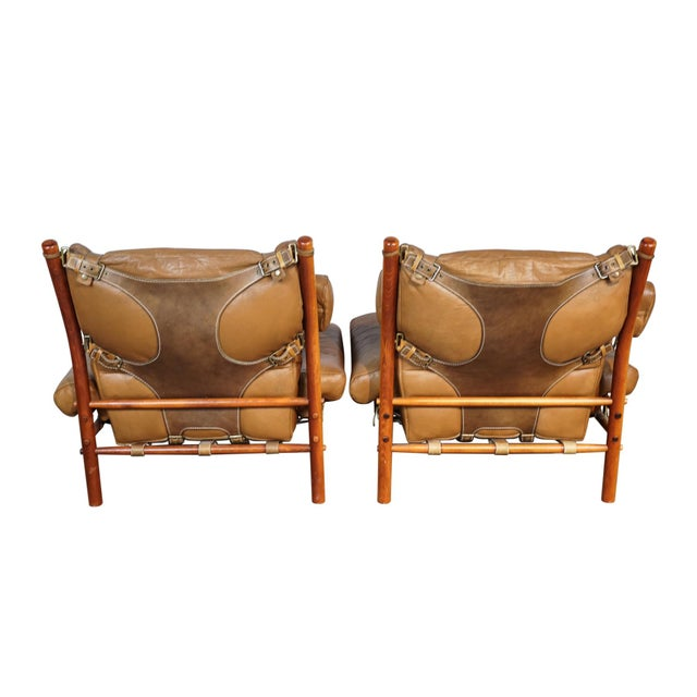 Arne Norell Inca Chairs - A Pair - Image 4 of 5