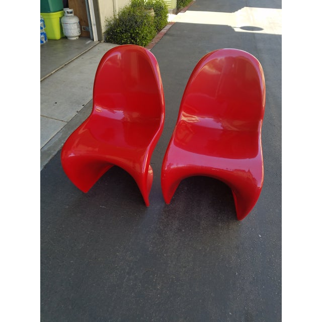 Mid-Century Modern Acrylic Chairs - A Pair - Image 2 of 5