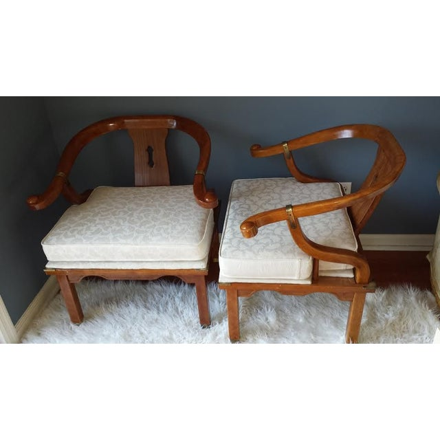 James Mont Style Chairs - A Pair - Image 3 of 8