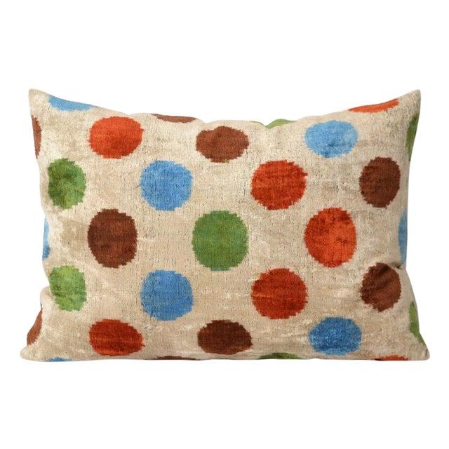 Dehavilland Silk Velvet Pillow - Image 1 of 2