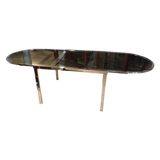 D.I,A. Milo Baughman Chrome Table