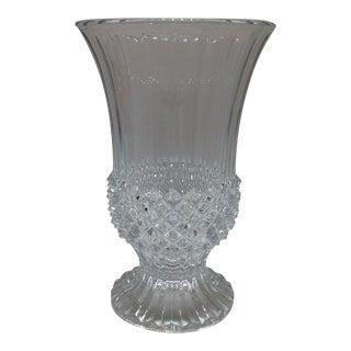Vintage French Crystal Vase