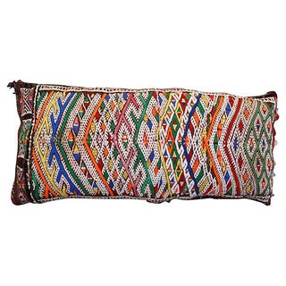 Moroccan Colorful Patterned Pillow