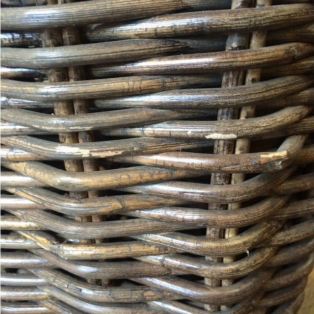 Wicker Moveable Bedside Table - Image 9 of 11