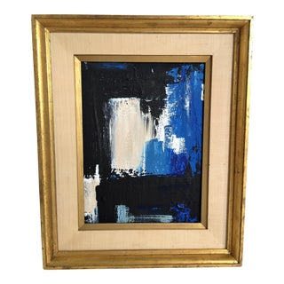 Mid Century Modern Style Abstract Painting