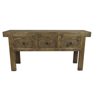 Rustic Altar Console Table