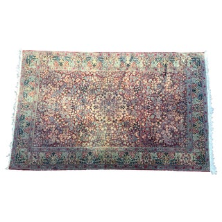 Antique Oriental Persian Kerman Rug - 4′6″ × 7′7″