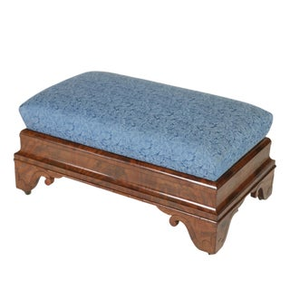 Regency Period Mahogany Bench