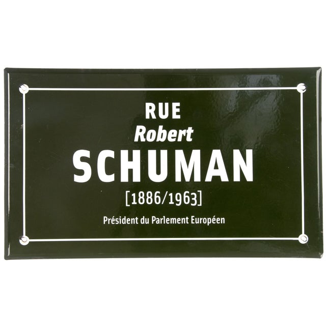 Image of Vintage French Porcelain Enamel Street Sign