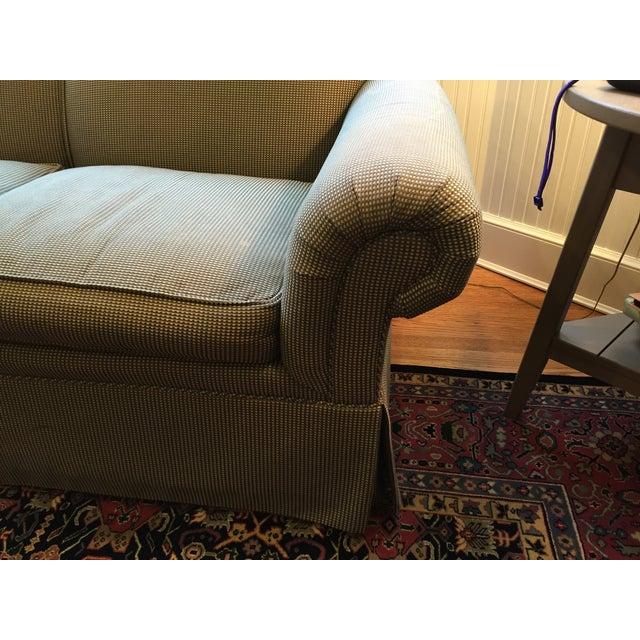Kravet moss green sofa chairish for Moss green sectional sofa