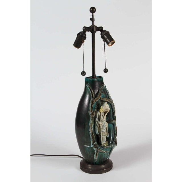 Marcello Fantoni Chinese Scholar Table Lamp - Image 6 of 9