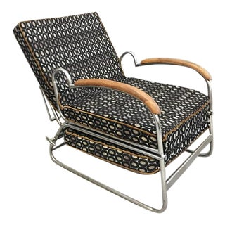 Marcel Breuer Art Deco Lounge Chair