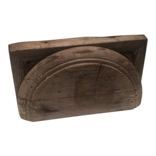 Rustic Salvage Wood Fragment