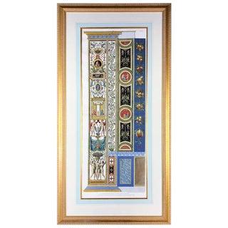 """Gaetano Savorelli """"Delle Logge DI Rafaele Nel Vaticano"""" Plate X Panel"""