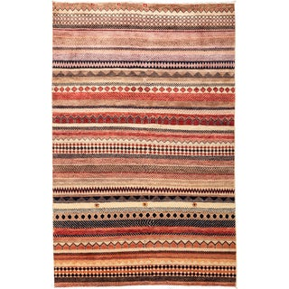"""Lori Hand Knotted Area Rug - 4'1"""" X 6'3"""""""