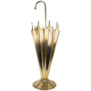 Stylish Brass Umbrella Stand