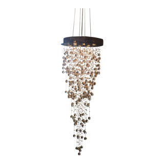 James Moder Swarovski Crystal 8-Light Chandelier