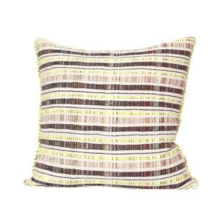 Hand Woven Textile Pillow