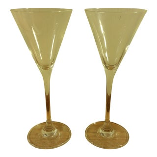Grey Goose Martini Cocktail Glasses - A Pair