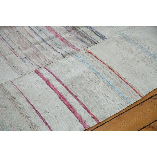"Vintage Multi-Colored Rag Rug - 7' 7"" x 10' 9"" - Image 4 of 4"