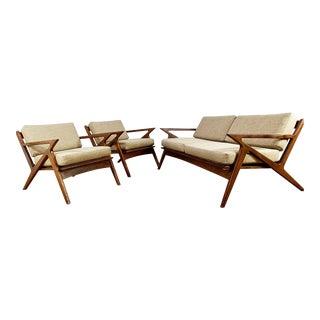 Mid-Century Z Sofas - Set of 3