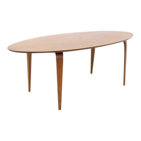 Norman Cherner Oval Dining Table - Image 1 of 6