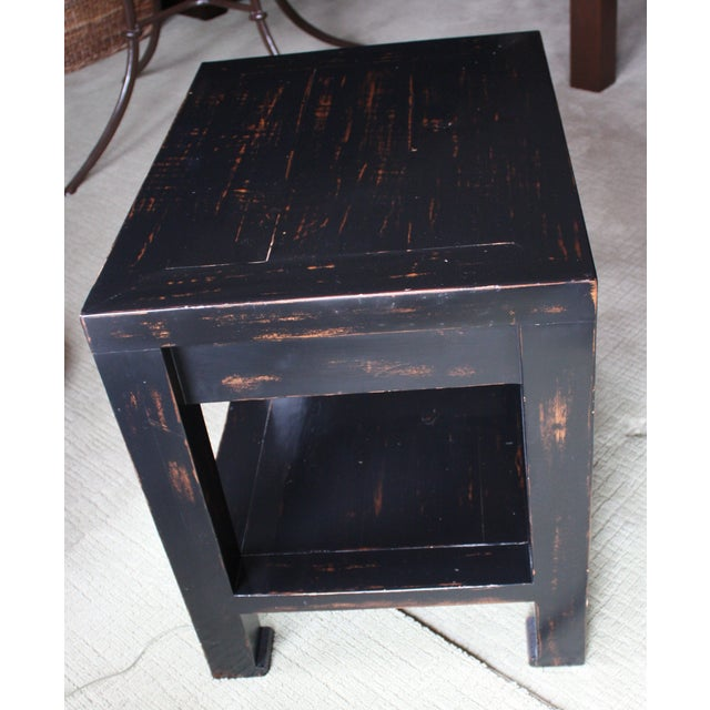 Honduran Mahogany Side Table - Image 5 of 5