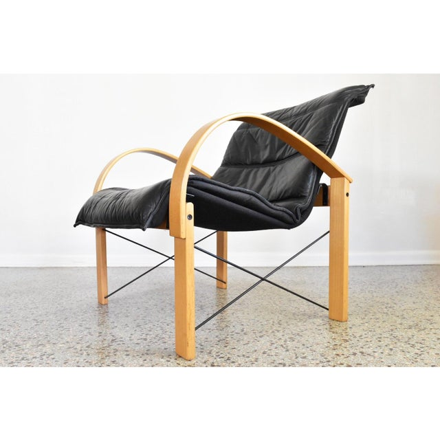 Image of Vintage Italian Bentwood Lounge Chair
