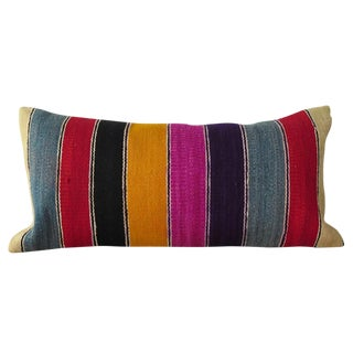 Vintage Striped Kilim Pillow