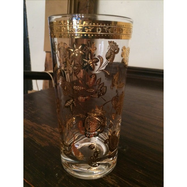 Culver Chantilly Highball Glasses - Set of 8 - Image 3 of 3