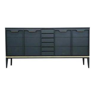 Mid-Century Blue Basic Witz Dresser