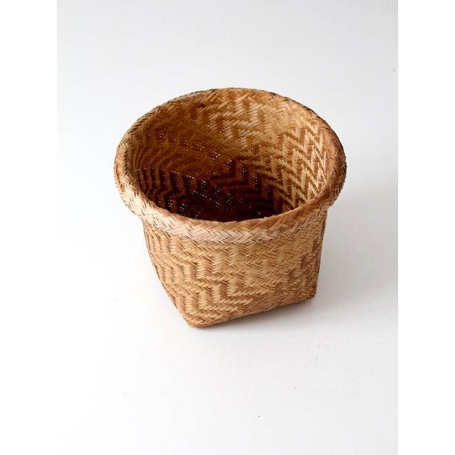 Vintage Indonesian Basket - Image 9 of 9