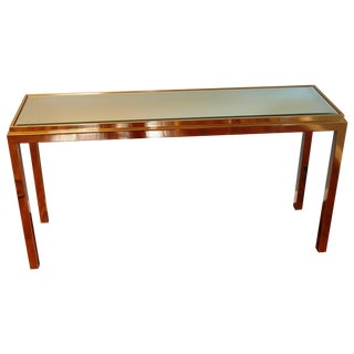 Willy Rizzo Style Console Table