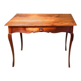 French Provincial Louis XV Style Writing Table