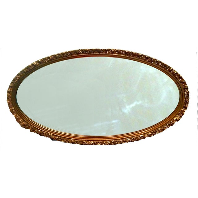 1920s Gilded Garland Mirror - Image 3 of 7