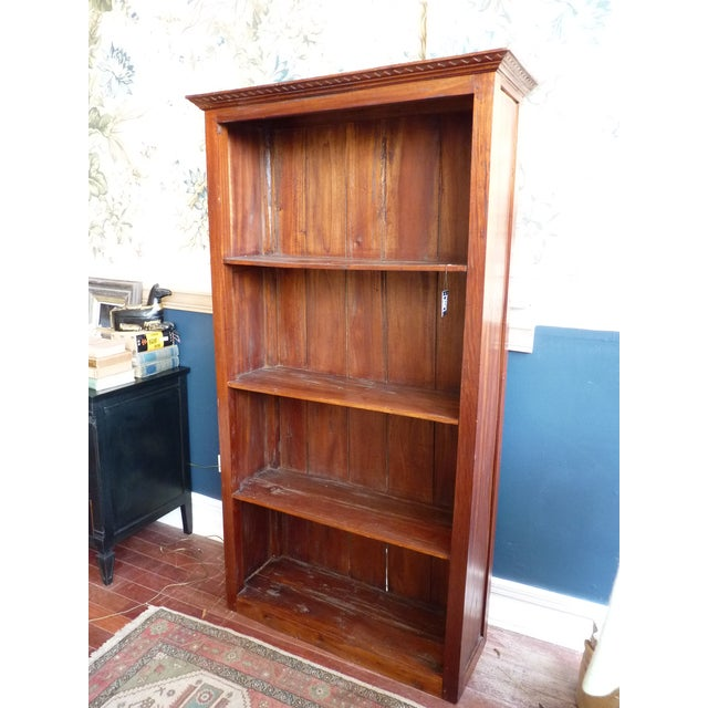 Image of Rustic Wooden Bookcase