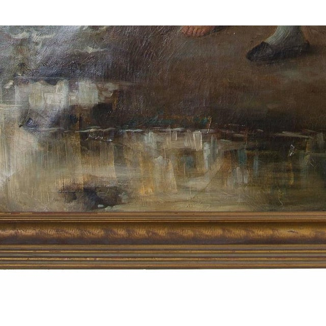 19th Century Oil on Canvas After Fernand Marie Eugene Le Gout-Gerard - Image 4 of 4