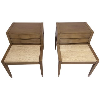 American of Martinsville Side Tables - Pair