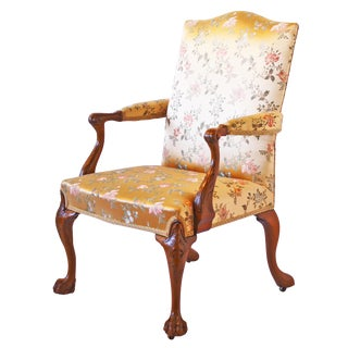 George II Elbow Chair with Hairy Paw Feet