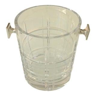 Christofle Scottish Crystal Ice Bucket