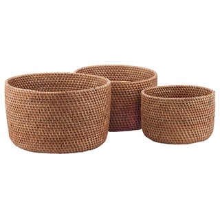 Nesting Bowls in Cinnamon - Set of 3