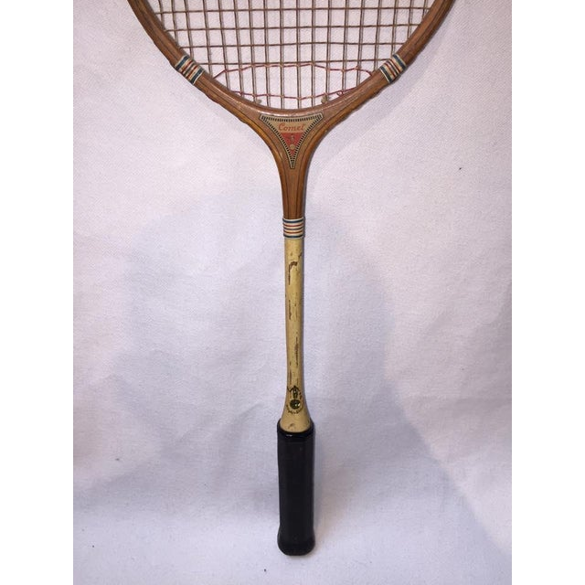 Vintage Wood Badminton Rackets - a Pair - Image 4 of 5