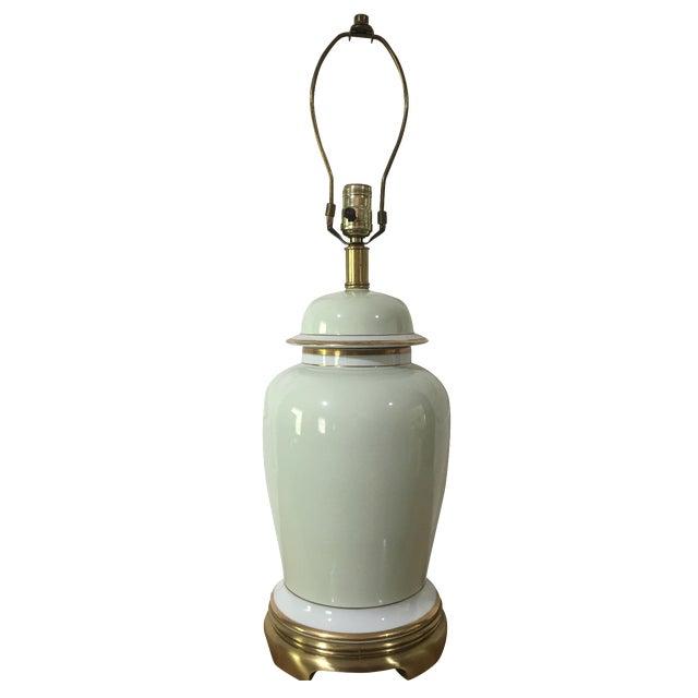 Vintage Frederick Cooper Ginger Jar Lamp Chairish