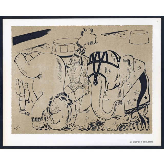 1944 Lithographs - Circus: # 52 & 75 - A Pair - Image 2 of 7