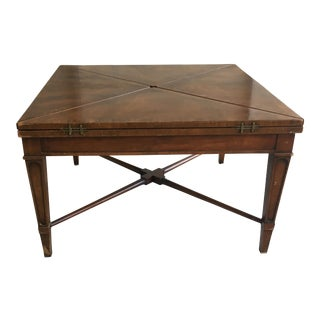 Henredon Mahogany Handkerchief Coffee Table