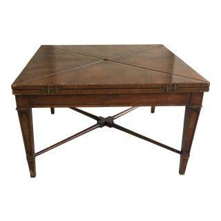 Henredon Mahogany Handkerchief Coffee Table