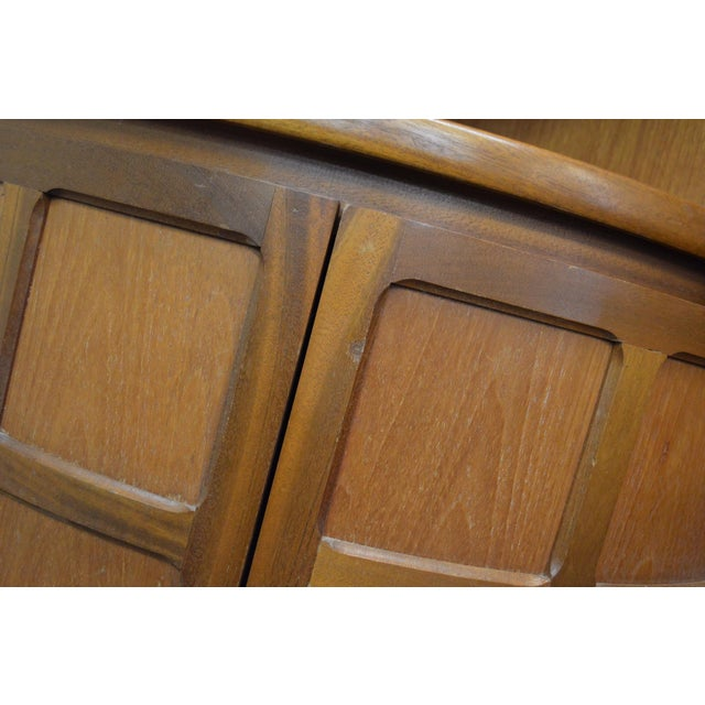 Mid Century Teak Wall Unit By Nathan Furniture - Image 7 of 11