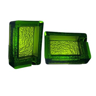 Single Serve Ashtrays - A Pair